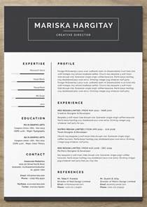 Creative Professional Resume Templates 25 More Free Resume Templates To Help You Land The