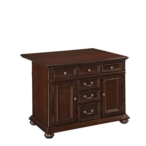 kitchen islands home depot home styles colonial 48 in wood top kitchen