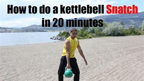 snatch kettlebell minutes