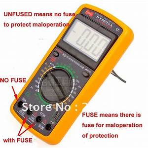 Digital Multimeter Dt9205a User Manual Pdf