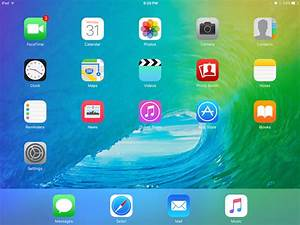 Home Screen, Sweet iOS 9 Home Screen