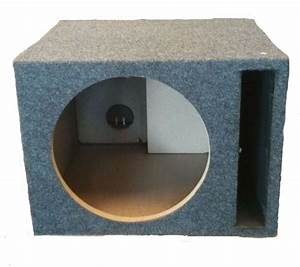 CAR AUDIO SINGLE 12 INCH SUB BOX WOOFER SUBWOOFER ...