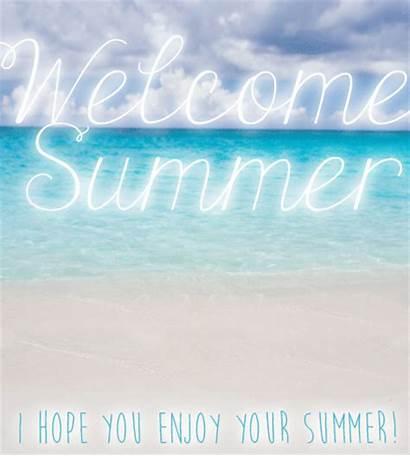 Summer Welcome Enjoy Happy Greetings Ecard Customize