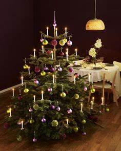 Geschmückte Weihnachtsbäume Christbaum Dekorieren : festlich wir dekorieren den christbaum natal weihnachtsdeko pinterest weihnachten baum ~ Markanthonyermac.com Haus und Dekorationen