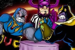 Darkseid Vs Thanos by BJSinc on DeviantArt