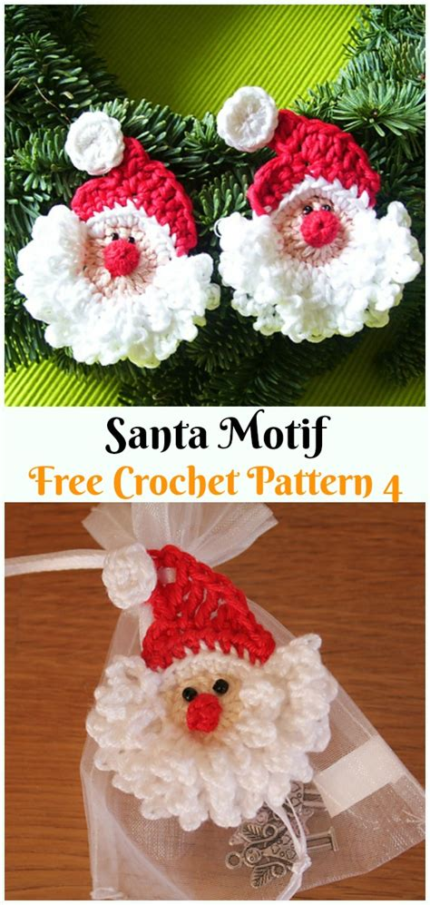 crochet santa clause ideas  projects  patterns