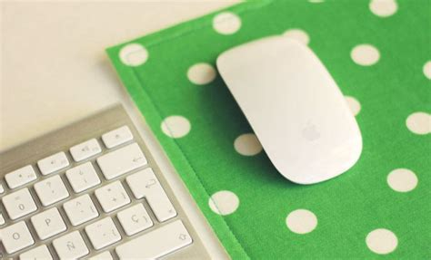 picture  easy diy fabric mousepad