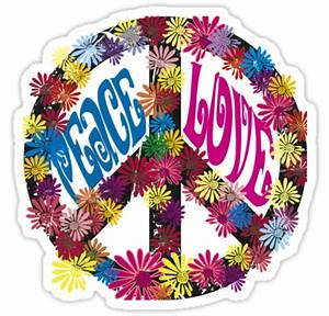 Hippie clipart peace and love - Pencil and in color hippie ...