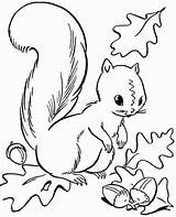Coloring Pages Preschool Fall Autumn Printable Season Popular sketch template