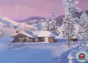 Beautiful Christmas Scenes Cards