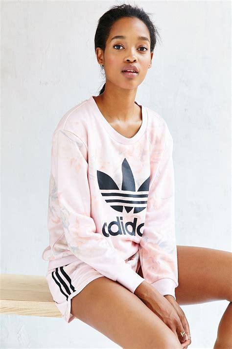 Adidas Originals Pastel Rose Tee in Pink | Lyst