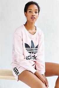 Adidas Originals Pastel Rose Tee in Pink   Lyst