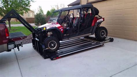 Hydraulic Sled Deck Plans by Hydraulic Utv Deck Tufflift Net 208 661 3100