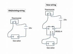 May I Use  Share 24v Signal Used By Thermostat As Inpput For 110v Contact Relay