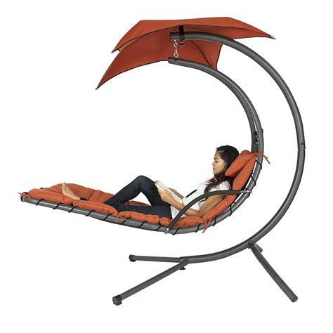 chaise amazon amazon hanging chaise lounger chair swing simplemost