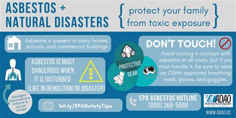 stay safe  asbestos   storm resources