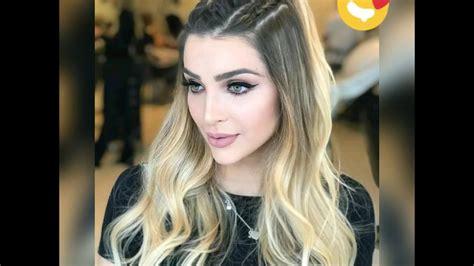 #style #peinados #trenzas Trenzas con cabello suelto YouTube