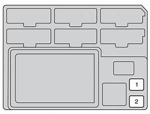 Toyota Hilux  2014  - Fuse Box Diagram