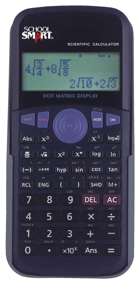 School Smart Scientific Calculators - SCHOOL SPECIALTY ...