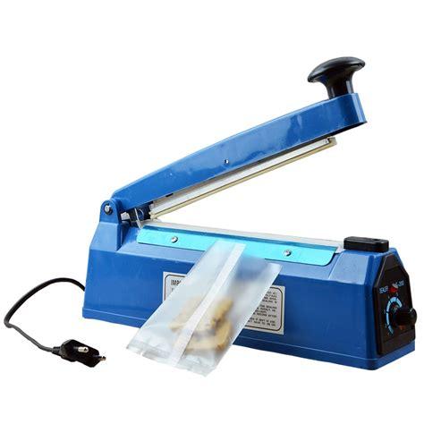 hand sealer pressure impulse heat manual sealing machine heat poly bag sealer plastic closer