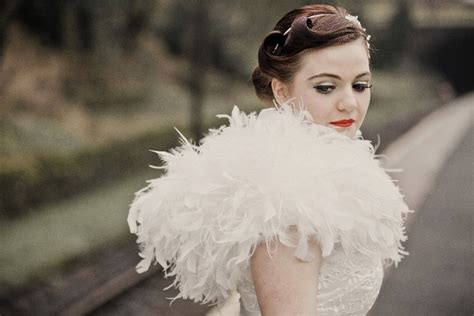 Wedding Hairstyles 1950s by 1950s Wedding Hairstyle And Bridal Makeup Onewed