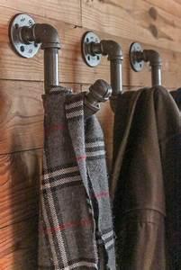 Crochet Pour Porte Manteau : 8 crochets et porte manteaux cr er avec des objets recycl s ~ Teatrodelosmanantiales.com Idées de Décoration