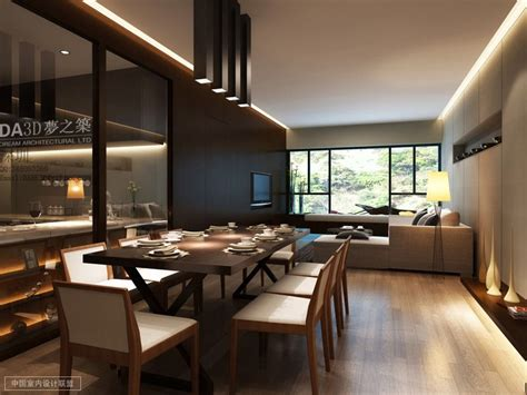 Living And Dining by Modern Living Dining Interior Design Ideas