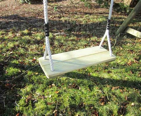 Wooden Swing by Wooden Swing Seat For Your Swing Set Caledonia Play