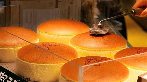 japanese street food jiggly cheesecake uncle rikuros