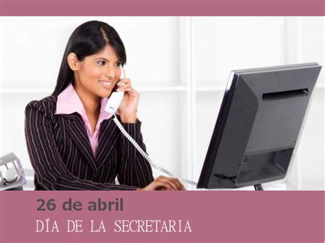26 de Abril - Día de la Secretaria