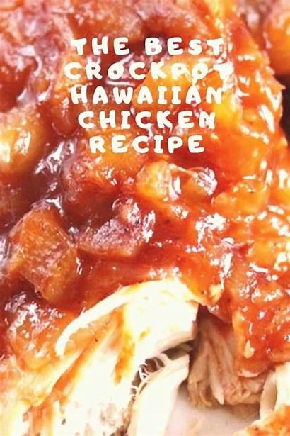 Chicken Hawaiian Recipe Crockpot Recipes Dinner Sweet
