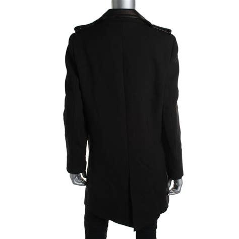 ZARA BASIC 0239 Womens Black Leather Biker Long Sleeves Coat Outerwear XS BHFO   eBay
