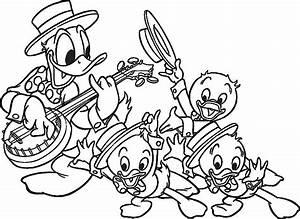 Desenhos Para Colorir  Desenhos Para Colorir Pato Donald