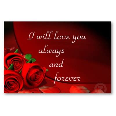 I Will Love You Forever Quotes Quotesgram