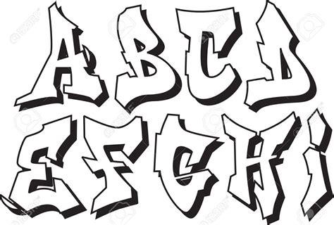 Graffiti Art Alphabet : Alphabet Graffiti Font Style