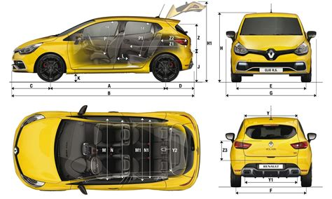 Renault Clio Sizes And Dimensions Guide
