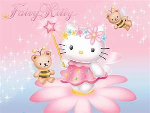 Hello Kitty Wallpaper Pink - Wallpaper, High Definition ...