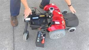 Disassembling Of A Jazzy Select Power Chair With Attendent