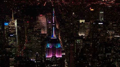 the empire state building s 2013 light show