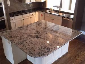 Get Touched By Blue Flower Granite And Countertops Home