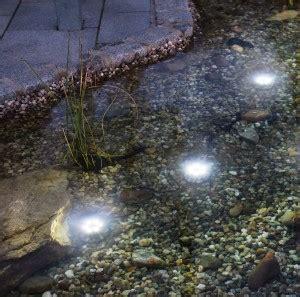 Der Garten Zusammenfassung by Teichbeleuchtung Mit Strom Oder Mit Solarenergie