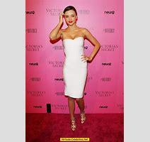 Miranda Kerr Looking Sexy At Victorias Secret Party