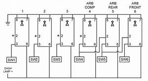 Mounting Aux  Lighting Switches