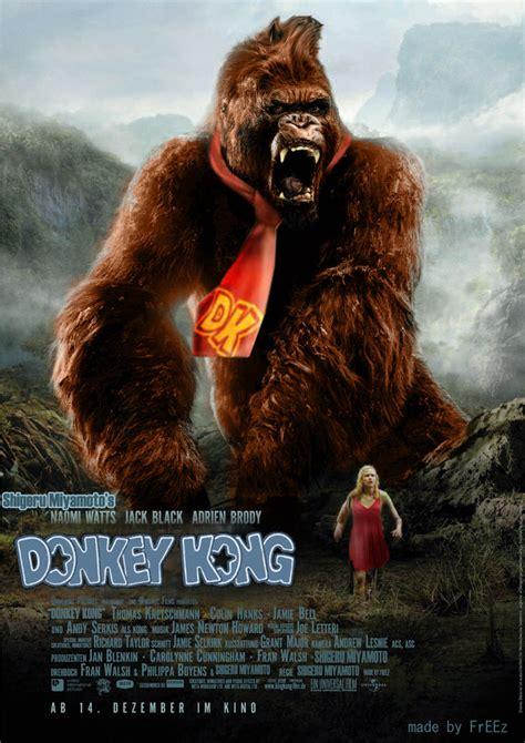 King Donkey Kong By K0uba On Deviantart