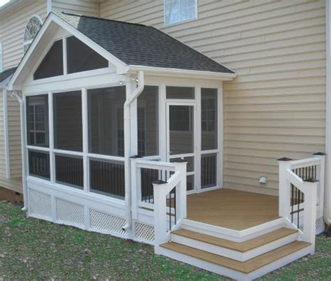 screening in a porch 8 ways to more appealing screened porch deck