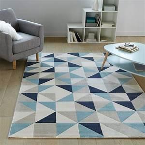 les 25 meilleures idees de la categorie tapis bleu sur With tapis kilim avec canape d angle design contemporain