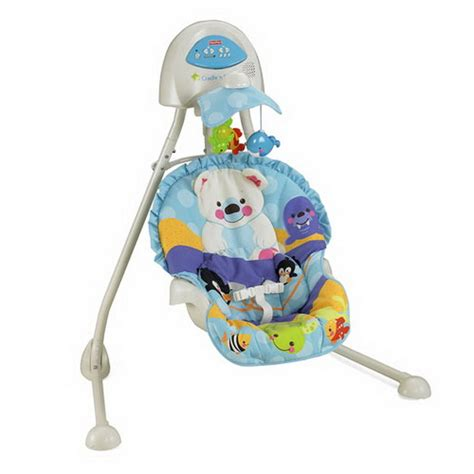 and colorful baby swings stylish