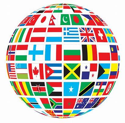 Languages Speak Globe Flags Translation