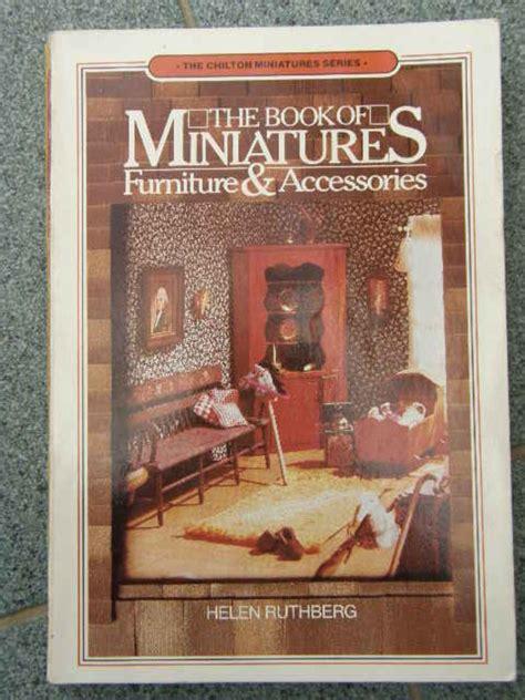 livre pour fabriquer des miniatures pour maisons de poup 233 es ou vitrines vitrines maisons de
