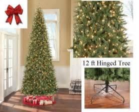 9 Ft Pre Lit Slim Christmas Tree